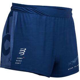 Compressport Racing Mont Blanc 2019 Pantalones cortos Hombre, blue